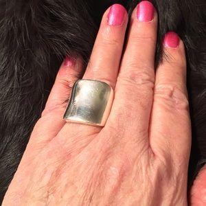 Vintage 925 SterlingSilver Statement Ring size 7.5